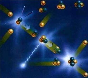Процесс деления ядра
